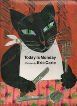 Today is Monday - Eric Carle - SC - 1993 - Scholastic Books - 0590459082. - $3.59
