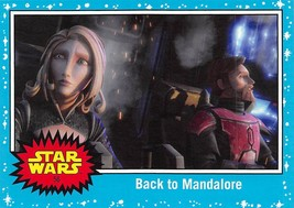 2017 Star Wars Journey To The Last Jedi #56 Back To Mandalore - €0,86 EUR