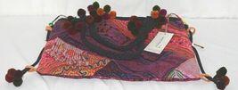 Gemini Mermaids Brand BG005PU Twelve Inch Desert Sunset Color Pom Pom Purse image 4
