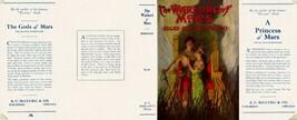 Burroughs -le Warlord de Mars Facsimile Pochette pour 1st A. c.Mcclurg E... - $21.50