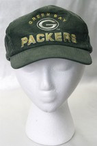 Vintage Greenbay Packers Football Team Baseball Hat Official NFL One size - £45.13 GBP