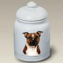 Pit Bull Terrier Brindle Treat Jar - $44.95