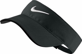 NEW! Nike Golf Tech Visor Black Adjustable One Size - $44.43