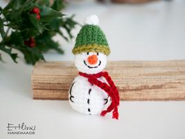 Handmade Snowman Ornament Christmas Tree Decoration Home Decor Stocking ... - $19.00