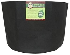 Gro Pro Premium Round Fabric Pot 20 Gallon, Black - $18.45