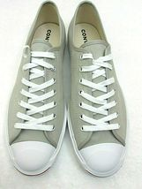 Converse Mens Jack Purcell OX Canvas Birch Bark White Habanero Red Shoes Sz 9.5 image 3