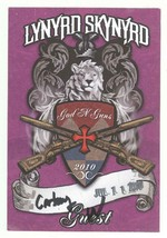 Lynyrd Skynyrd 7/11/10 Burgettstown PA GUEST Backstage Pass! - $9.89