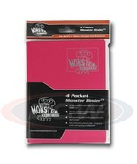 4-POCKET MONSTER PROTECTOR BINDER - MATTE PINK - $16.63