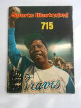 Sports Illustrated 1974 Hank Aaron 715 - $13.86