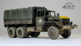 US Army M5-4A2 5-Yon 6x6 Cargo Truck Vietnam war 1:35 Pro Built Model - $346.50