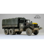 US Army M5-4A2 5-Yon 6x6 Cargo Truck Vietnam war 1:35 Pro Built Model - $346.50