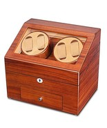 JQUEEN Automatic Wood Watch Winder Display Box 4+9 Storages (Ebony (EW)) - $196.65