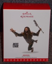2017 Hallmark Justice League Aquaman Christmas Ornament New In The Box - $19.99