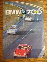 1961 1962 BMW 700 Luxux Brochure, Original - $16.81