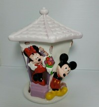 Disney Mickey Minnie Mouse Cookie Jar Teleflora Flowers From Mickey Cera... - $24.14