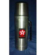 Texaco 1986 Safety Star Stainless Steel Thermos - 32 oz - $49.97