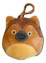 "Squishmallow Kellytoy 3.5 Inch Dog Clip On Keychain (3.5"" Mario The Germ... - $8.45"