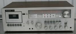 Vintage Sylvania CP-999 stereo receiver Cassette Deck 90 Watts - $64.34