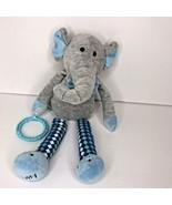 Scentsy Sidekick Baby Buddy Eddy The Elephant Newborn Nursery Ring  - $16.44