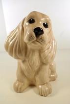 Vintage 70s HOLLAND MOLD Ceramic Golden Cocker Spaniel Dog Puppy Figurine - $52.45
