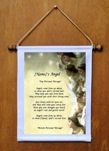 {Name's} Angel - Personalized Wall Hanging (195-2) - $19.99