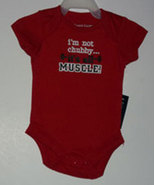 "Baby Boy's  ""Muscle"" Onesie - $8.00"