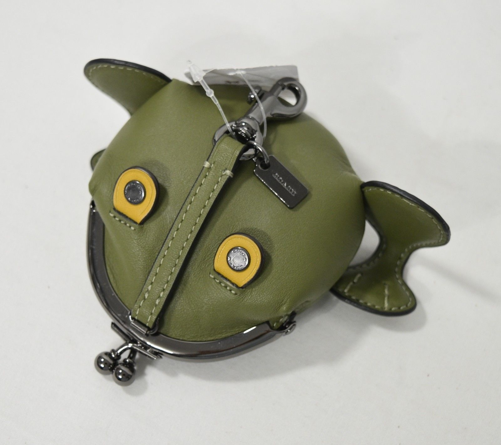 4edce283e1ed NWT! Coach 21094 Froggy Coin Case in Utility and 50 similar items