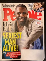 People Magazine November 19 2018 Idris Elba Sexiest Man Alive Romance FR... - $8.90
