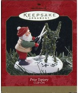 1997 New in Box - Hallmark Keepsake Christmas Ornament - Prize Topiary - $7.91