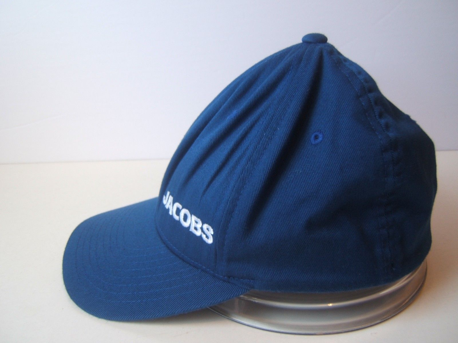 Jacobs Hat Blue S-M Stretch Fit Baseball Cap