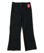 SPANX Black Cropped Flare Denim Jeans 20231R Size Large NWT - $55.10