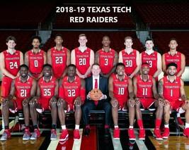 2018-19 Texas Tech Red Raiders 8X10 Team Photo Basketball Picture Ncaa - $3.95