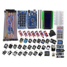 DIY MEGA 2560 R3 40 Sensor Modules Starter Kit with Breadboard, LCD for ... - $52.95