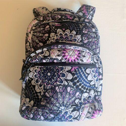 Vera Bradley Essential Large Backpack Laptop Bag ~ Mimosa Medallion Pattern NWT image 9