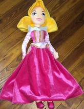 "Disney Store Princess Sleeping Beauty AURORA 20"" Soft Plush Doll Toddler... - $19.30"