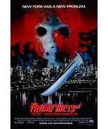 Friday The 13th - Part VIII Jason Takes Manhattan Reproduction Stand-Up ... - $16.99