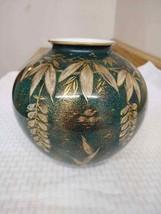 Vintage bulbous Rosenthal vase Goldrausch by Walter (W. Mutze) - $55.75