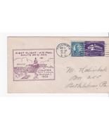 FIRST FLIGHT COLUMBIA, SC DECEMBER 1, 1932 ROUTE AM 19 P.O.D. - $2.98