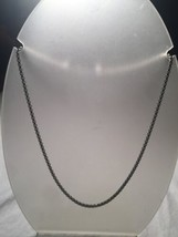Vintage Style Silver Stainless Steel 16 Inch Gothic Chain - $23.76