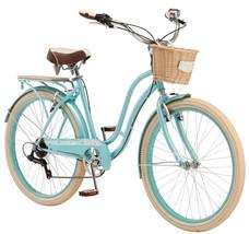 "Outdoor Women's Cruiser 26"" Schwinn Cabo Bike Blue Sports Beach Bicycle Fun Ride - $219.06"