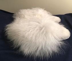 UGG Womens Fluff Momma Mongolian Slippers Size 7 White 1019726 - £67.89 GBP