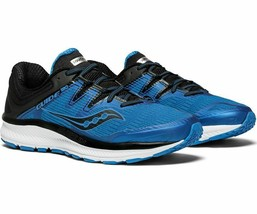 Saucony Guide ISO Men's Running Shoe Blue/Black, Size 9 M - £53.08 GBP