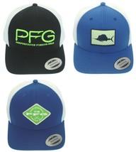 Columbia CU9525 Men's Women's PFG Mesh Snap Back Ball Cap, Trucker Hat - $25.00