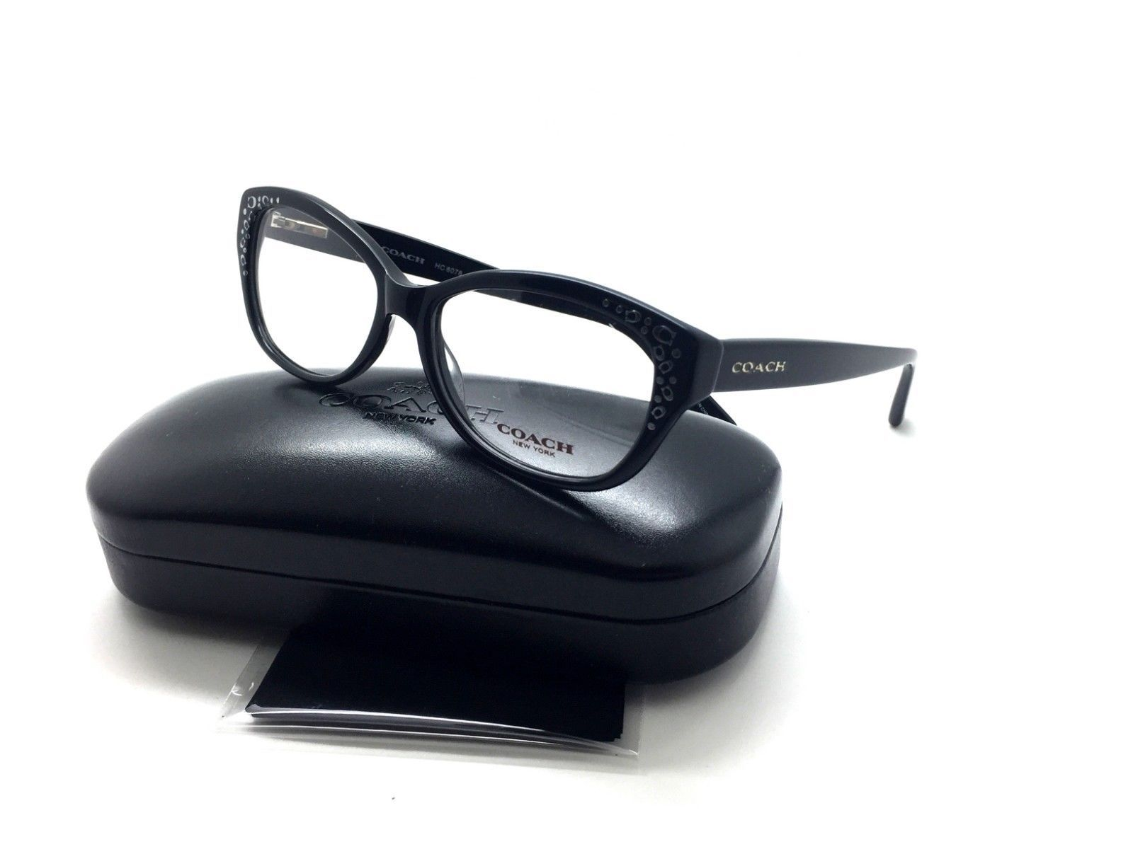 2bb9d49176f Coach Black Eyeglasses HC 6076 5002 53 mm and 50 similar items. S l1600