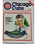 Chicago Cubs Wrigley Field 1982 Official Souvenir Program Magazine Unscored - $11.70