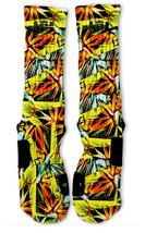 Custom Everglade Nike Elite Socks ALL Sizes FAST SHIPPING - $23.99
