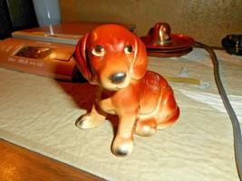 VINTAGE INARCO JAPAN CERAMIC PORCELAIN COCKER SPANIEL PUPPY DOG FIGURINE... - $19.79