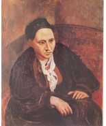 Portrait of Gertrude Stein - Picasso - Framed Picture 11 x 14 - $32.50
