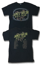 James Taylor & His ALL-STAR Band - 2014 Concert Tour T-SHIRT / Sz. M - $15.03