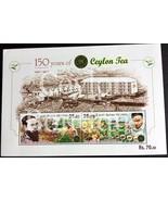 150 th Anniversary of Ceylon Tea - Souvenir Sheet - $3.71